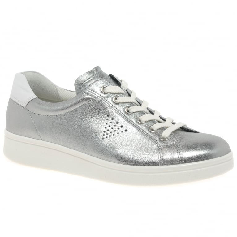 Ecco Soft 4 Womens Casual Lace Up Trainers