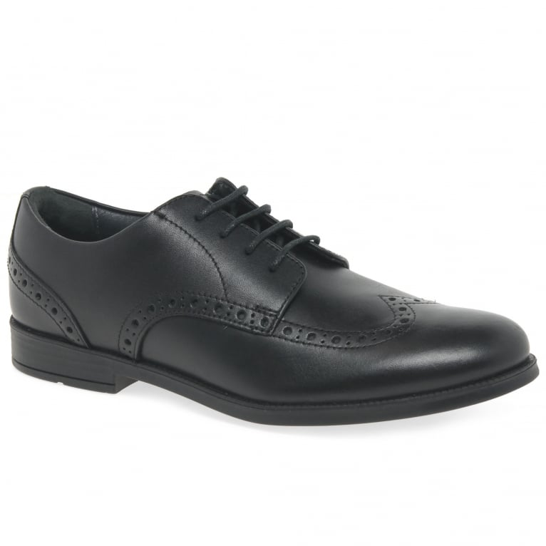 Start-Rite Brogue Pri Kids School Shoes