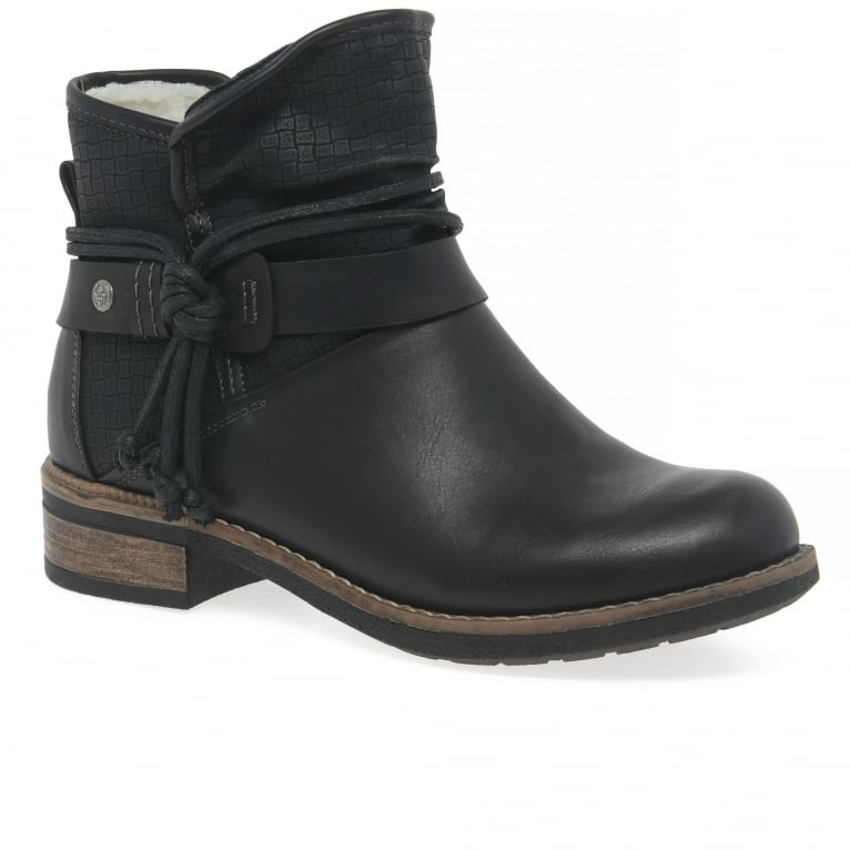 Rieker Eaton Womens Casual Ankle Boots