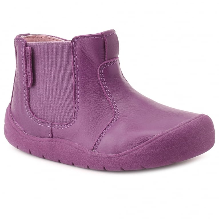 Startrite Chelsea Girls First Zip Ankle Walking Boots