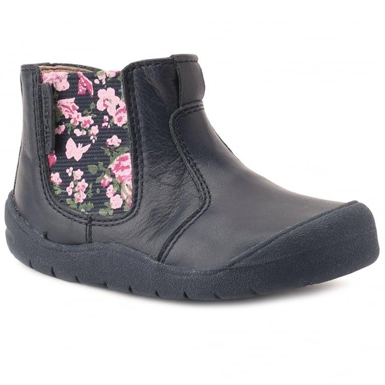 Start-Rite Chelsea Girls First Zip Ankle Walking Boots