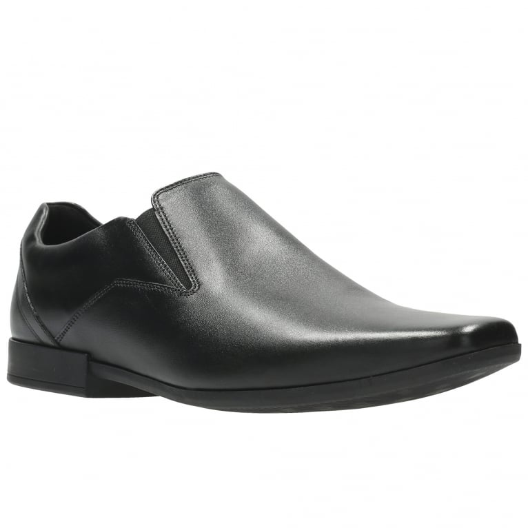 Clarks Glement Slip Mens Narrow Formal Slip On Shoes