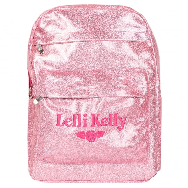 Lelli Kelly Rucksack 2 Girls Glitter School Backpack