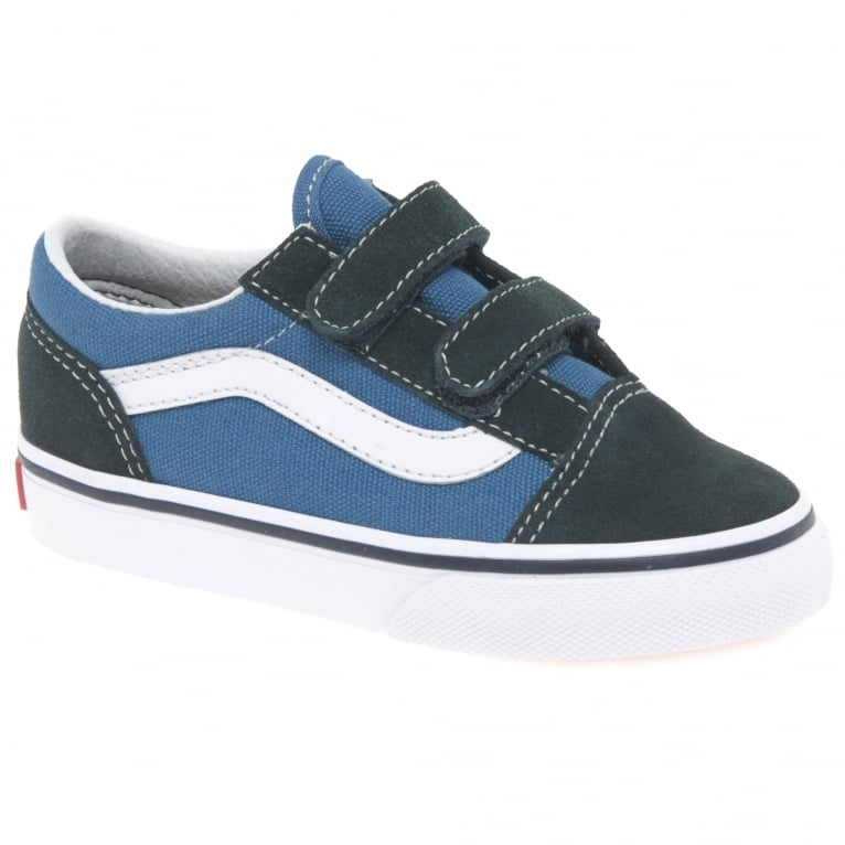 Vans Old Skool 2 V Kids Toddler Canvas Shoes