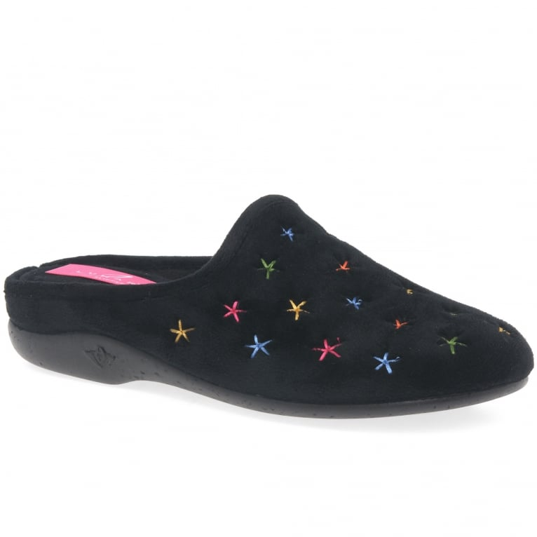 Lunar Galaxy II Women's Winter Mule Slip On Slippers