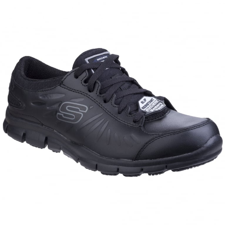 Skechers Eldred Slip Resistant Womens Work Shoes