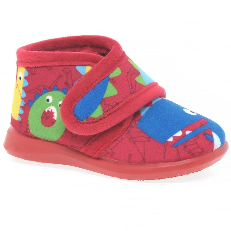 Puchitos Dino Boys Full Slippers