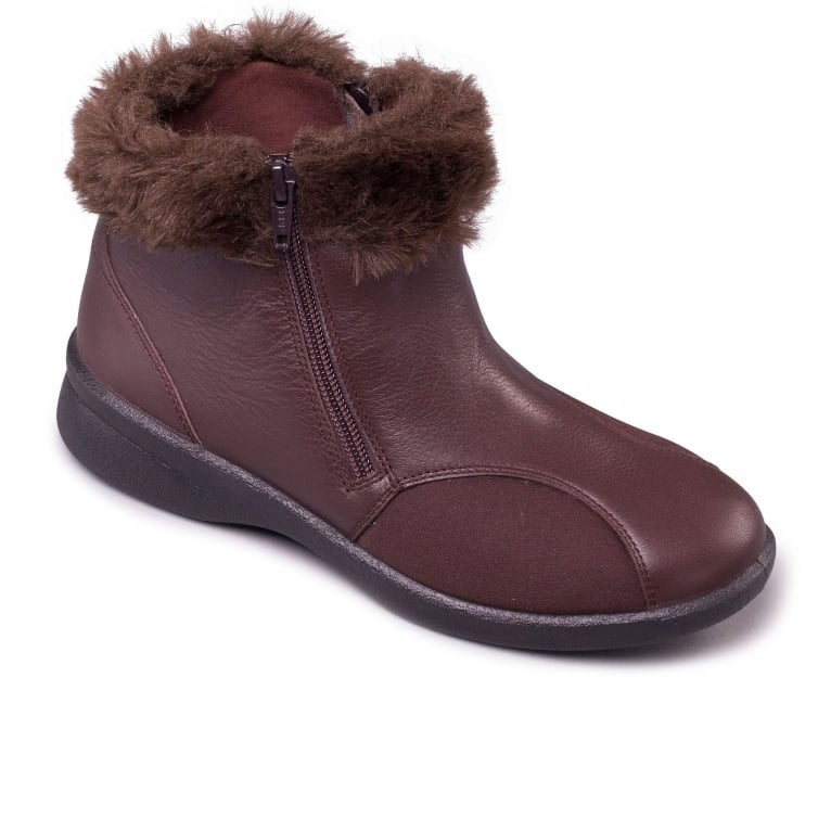 Padders Adele Womens Casual Ankle Boots