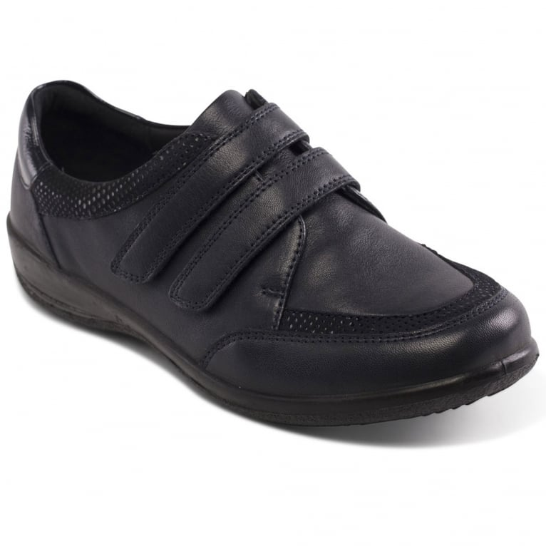 Padders Caitlin Womens Twin Strap Shoes