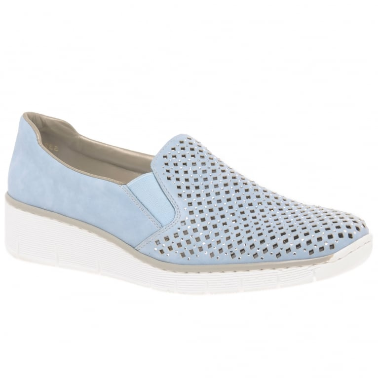 Rieker Punch Womens Casual Slip On Shoes