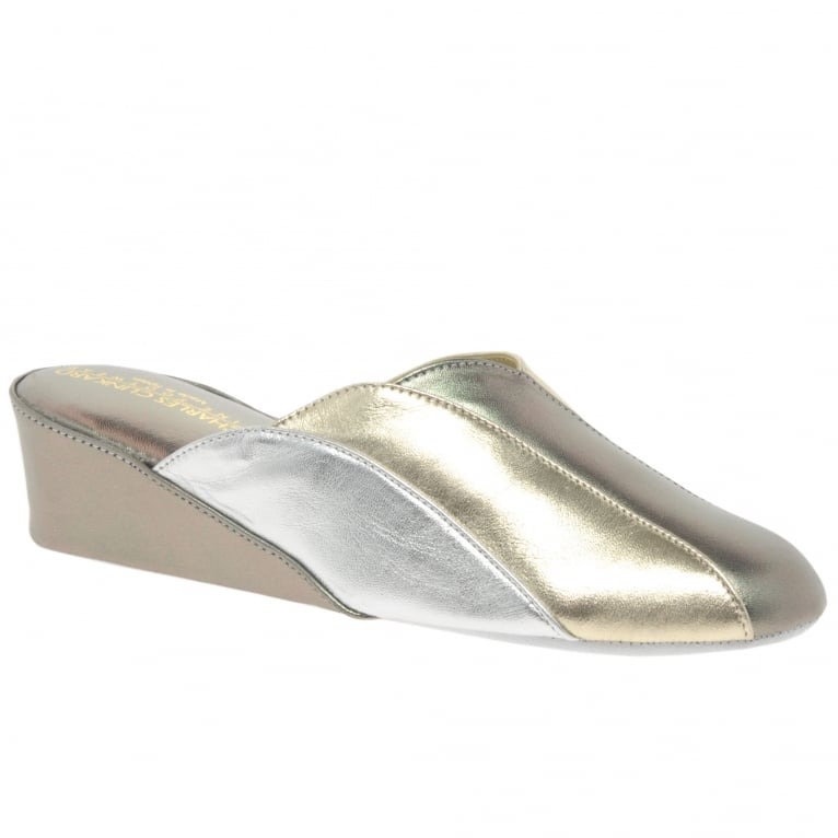Relax Slippers Glamour Womens Unlined Mule Slippers