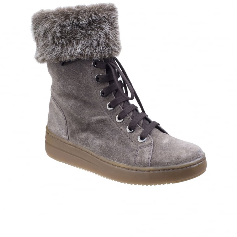 The Flexx Cuff It Up Womens Lace-Up Platform Boots