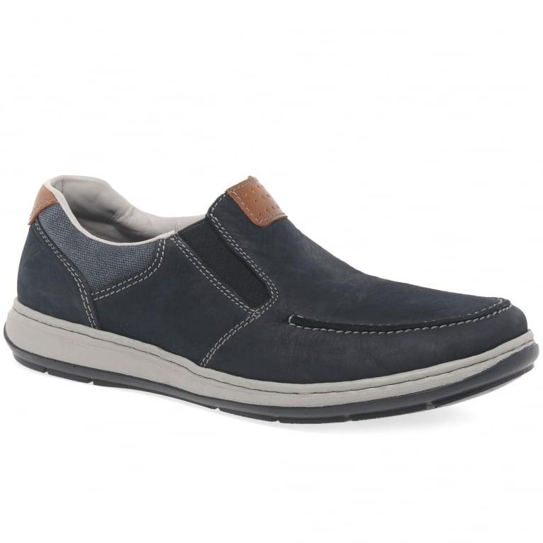 Rieker Patros Mens Casual Slip On Shoes