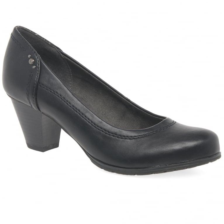 Soft Line (Jana) Lyric Womens Studded Court Shoes