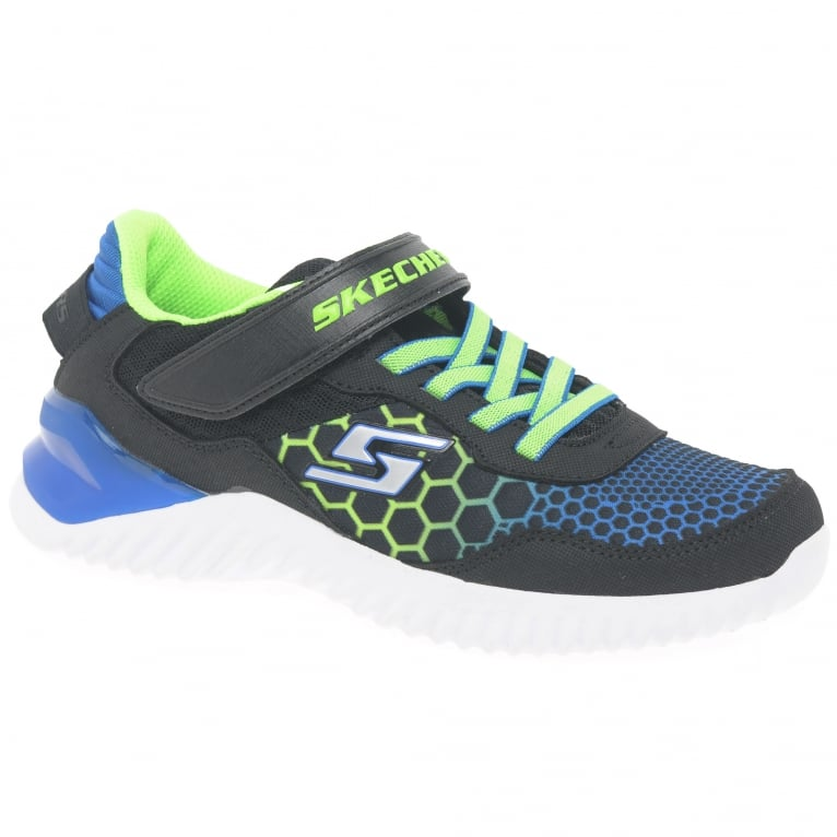 Skechers Ultrapulse Rapid Shift Boys Rip Tape Sports Trainers