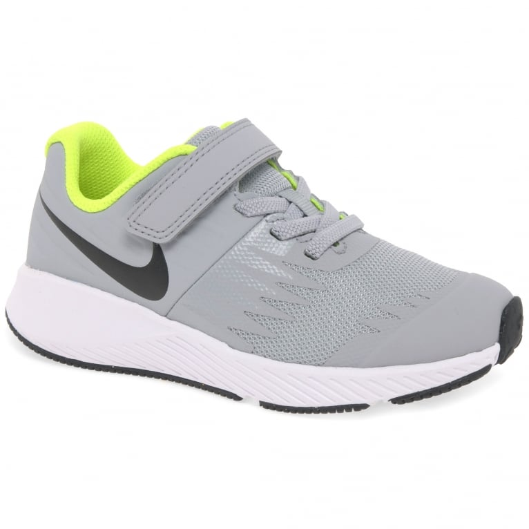 Nike Star Runner Kids Youth Lace Up Rip Tape Sports Trainers