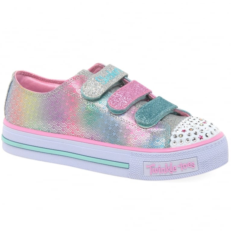 Skechers Shuffles Mermaid Girls Canvas Shoes