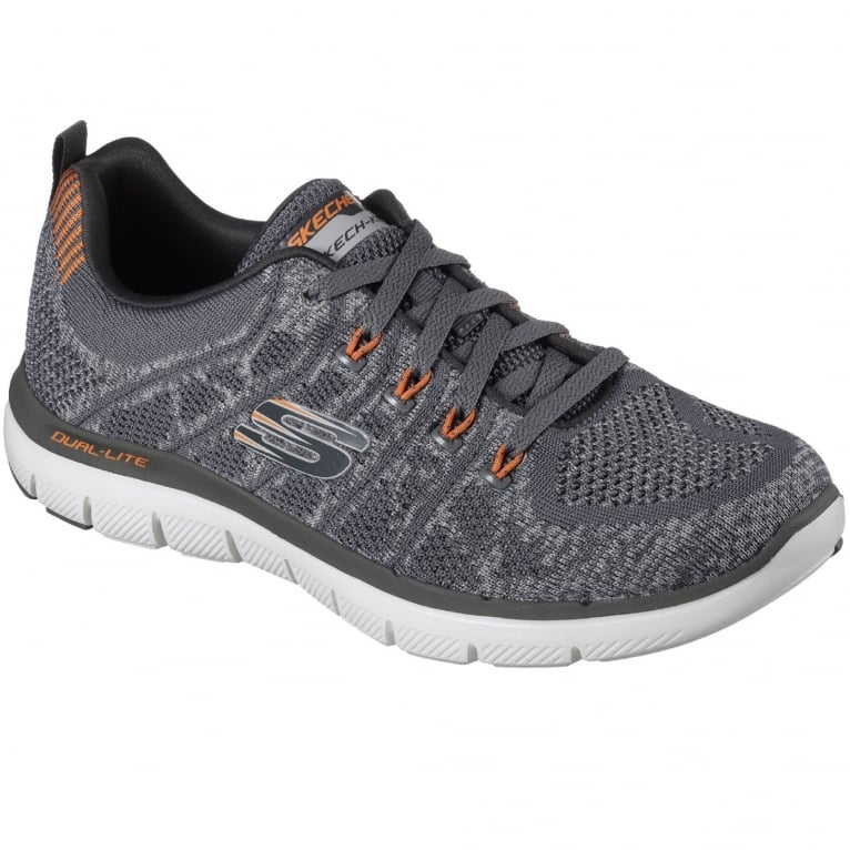 Skechers Flex Advantage 2.0 Talamo Mens Knit Trainer