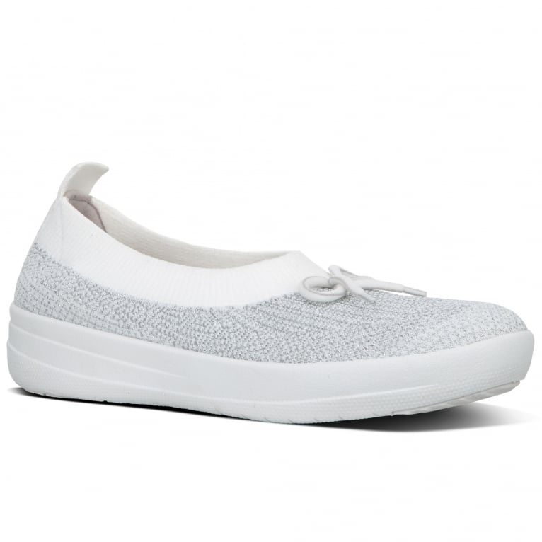 FitFlop™ Uberknit Bow Womens Casual Shoes