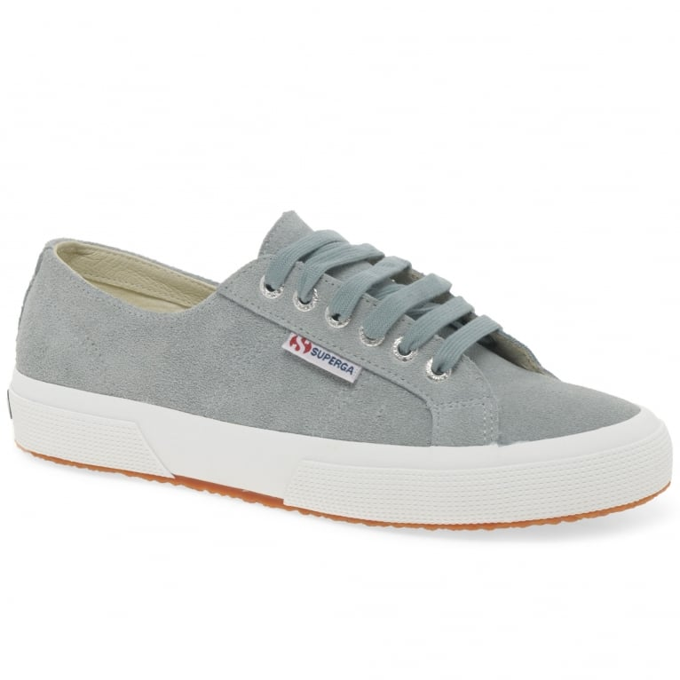 Superga Cotu Suede Womens Casual Trainers