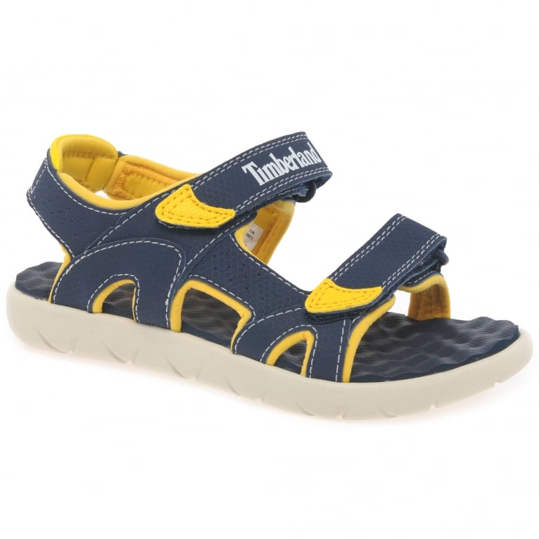 Timberland Perkins Row Boys Youth Rip Tape Sandals
