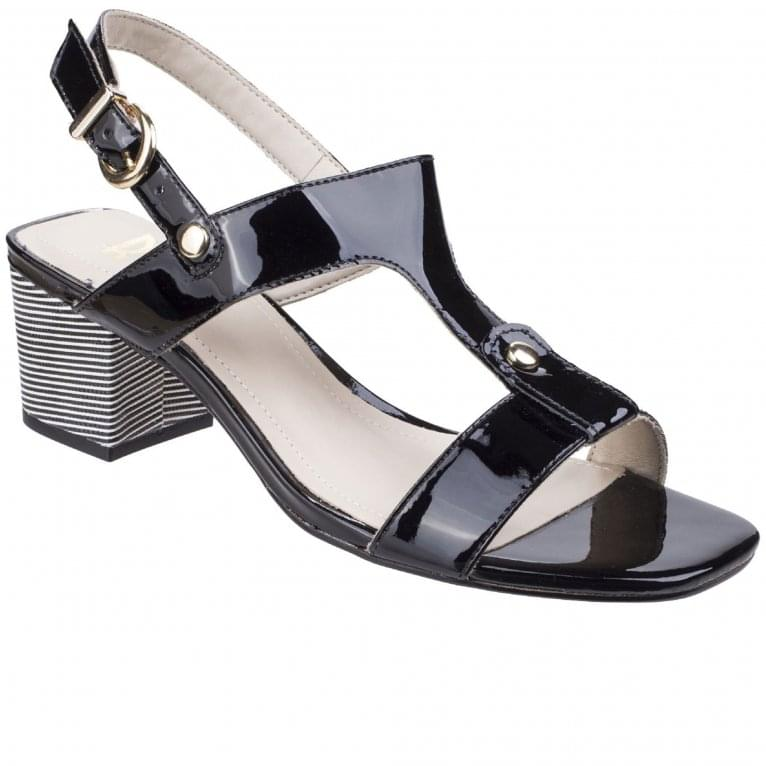 Riva Fabia Womens T-Bar Mule Sandals