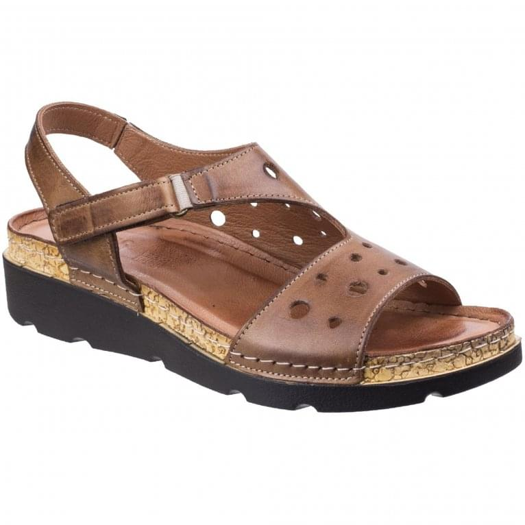 Riva Trista Leather Womens Open Toe Sandal