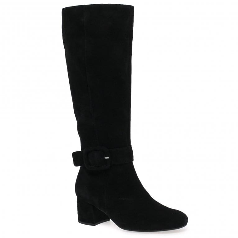 Gabor Carnation M Womens Long Buckle Detail Boots