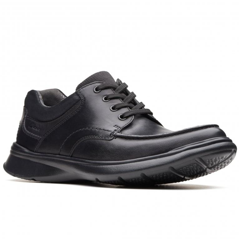 Clarks Cotrell Edge Mens Casual Leather Lace Up Shoes