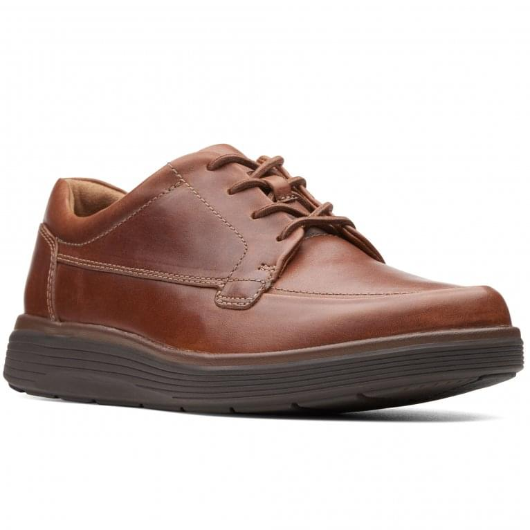 Clarks Un Abode Ease Mens Casual Leather Lace Up Shoes
