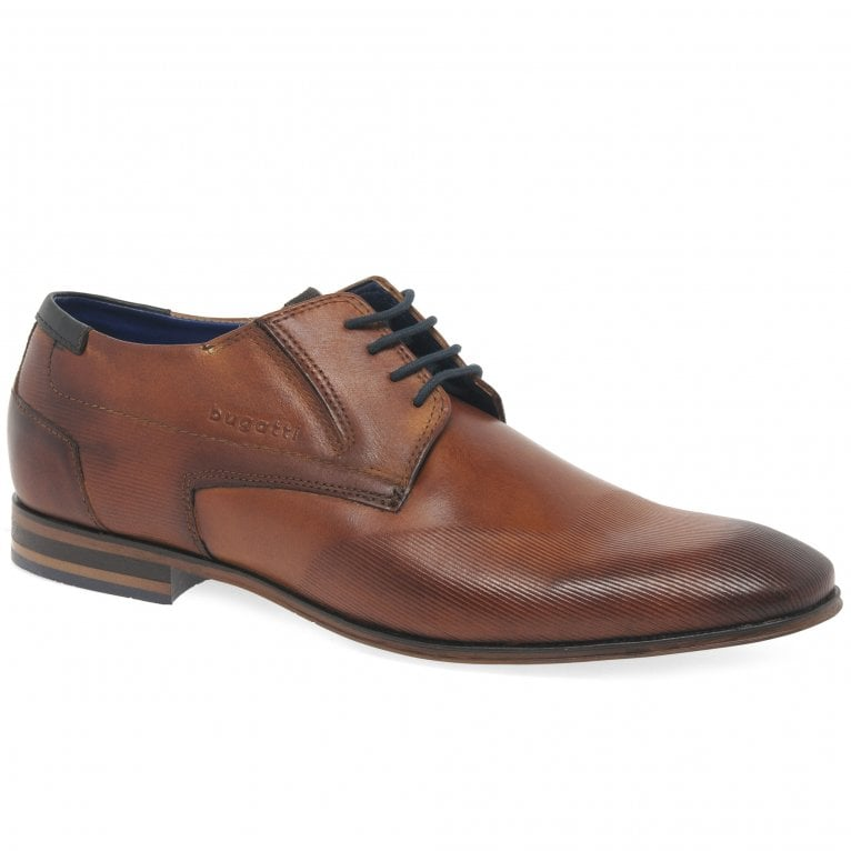Bugatti Bremen Mens Formal Lace Up Leather Derby Shoes
