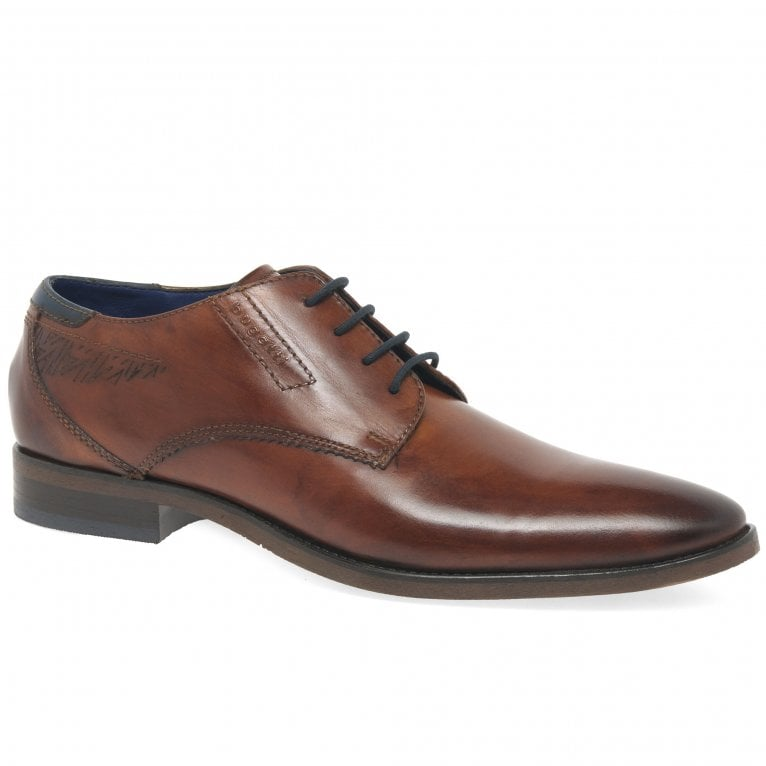 Bugatti Berlin Mens Formal Leather Lace Up Shoes