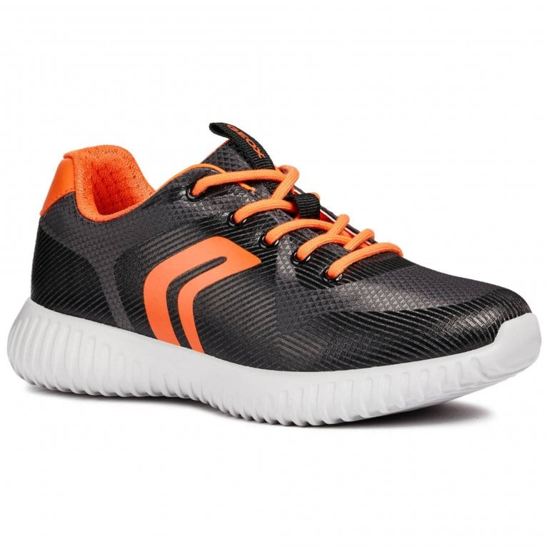Geox Waviness Boys Junior Sports Lace Up Trainers