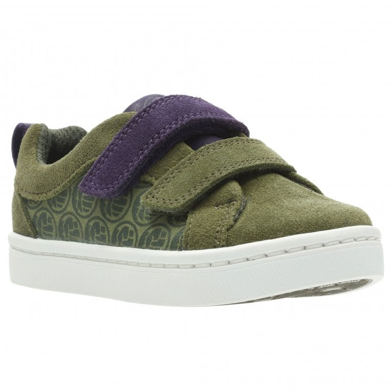 Clarks Marvel The Hulk City Hero Lo Kids Trainers