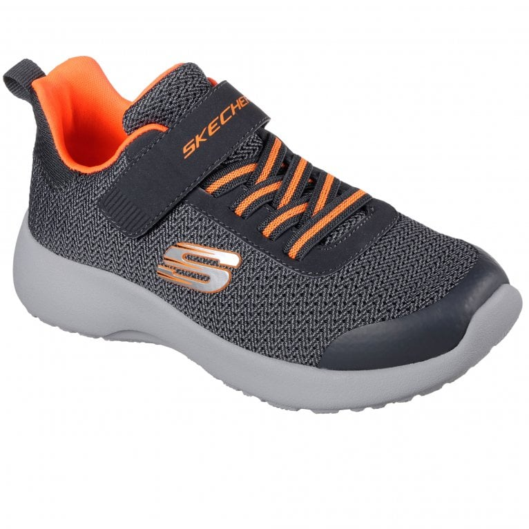 Skechers Dynamight Ultra Torque Boys Lace Rip Tape Trainers