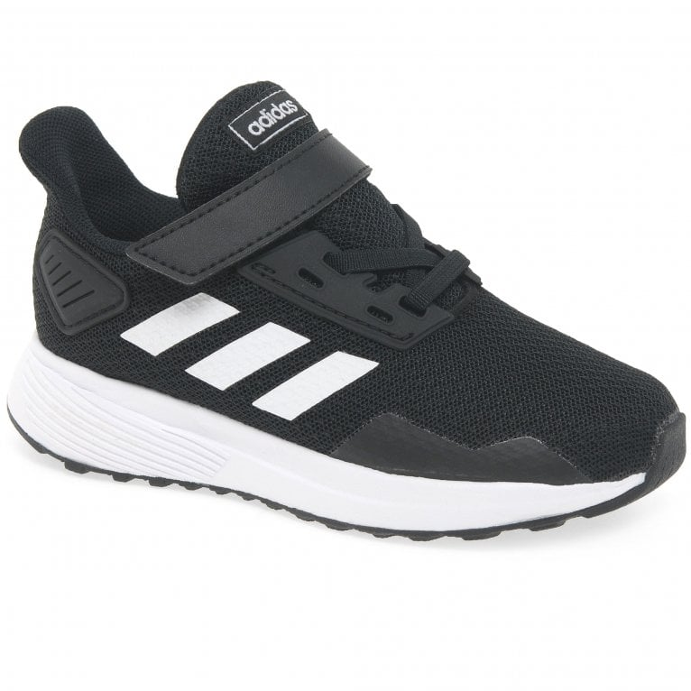 Adidas Duramo 9 Kids Toddler Classic Monochrome Sports Trainers