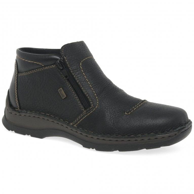 Rieker Redwood Mens Casual Twin Zip Shoe Boots