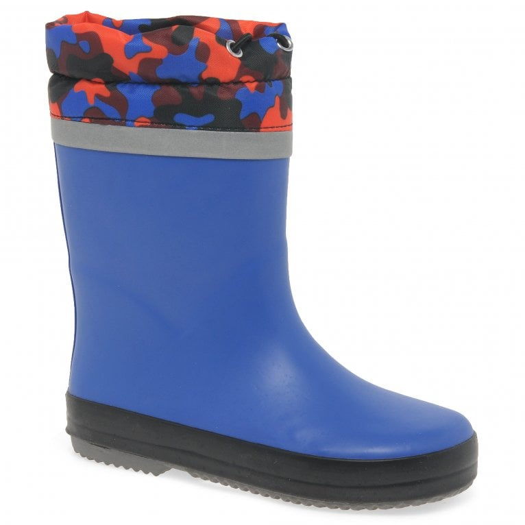 Clarks Tarri Tie Boys Toggle Waterproof Wellington Boots