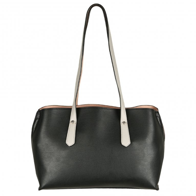 Envy Camilla Womens Reversible Synthetic Shoulder Bag
