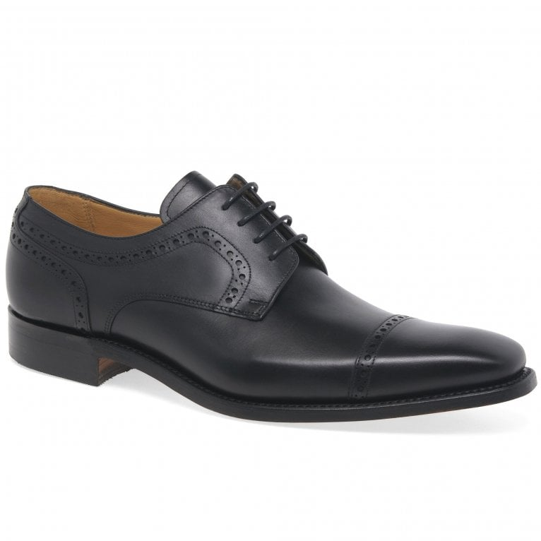 Barker Leo Mens Formal Leather Lace Up Derby Shoes