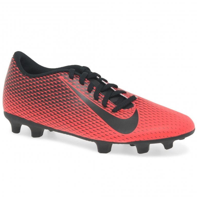 Nike MNS Bravata II Firm Ground Boys Asymmetrical Lace Football Boots
