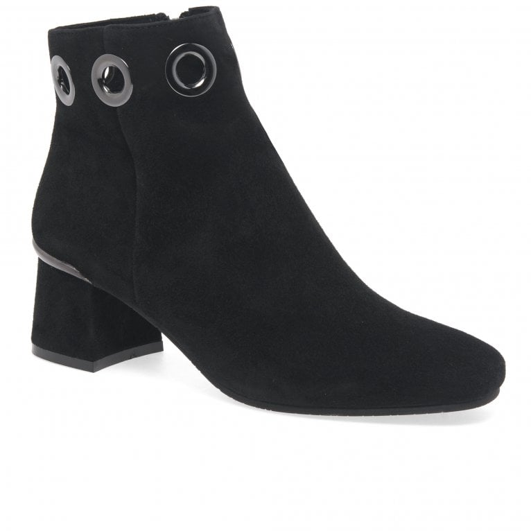 Regarde Le Ciel Illary 19 Womens Suede Eyelet Ankle Boots