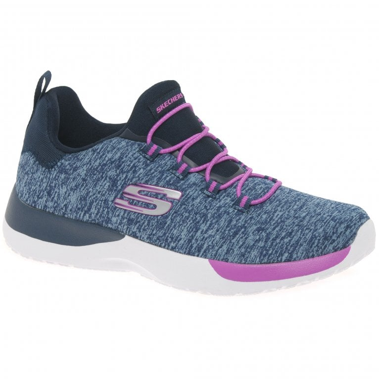 Skechers Dyna Break Through Lace Girls Sports Trainers