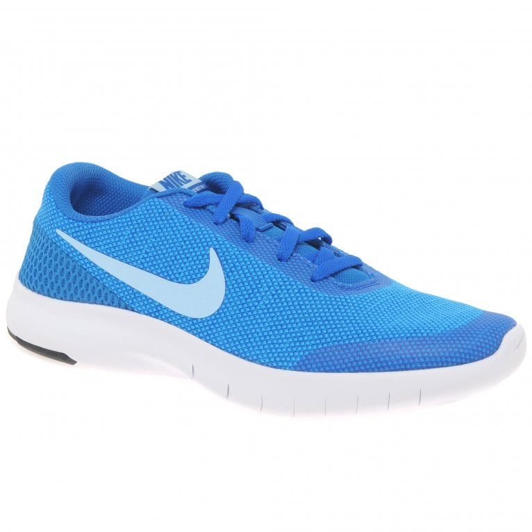Nike Flex Experience Girls Senior Lace Up Sports Trainers