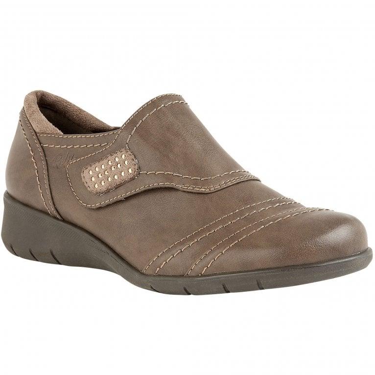 Lotus Ludlow Womens Casual Riptape Shoe