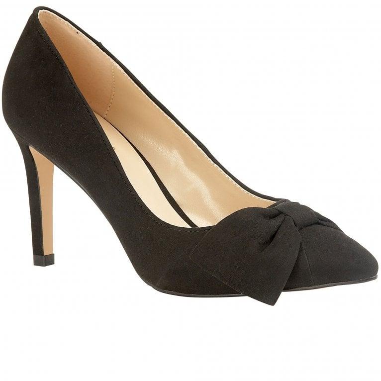 Lotus Minango Womens Bow Detail Court Shoe