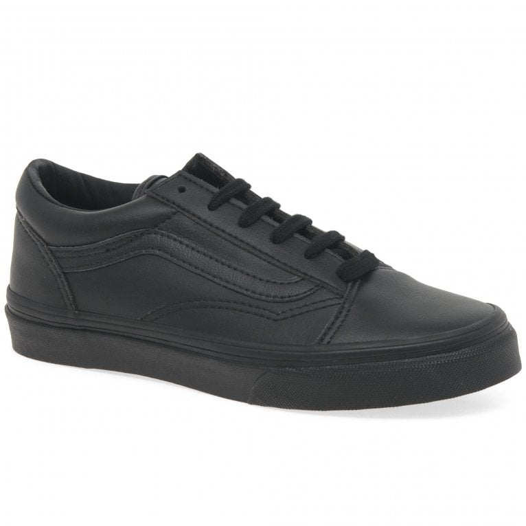 Vans Old Skool Lace Boys Lace Up School Trainer Shoes