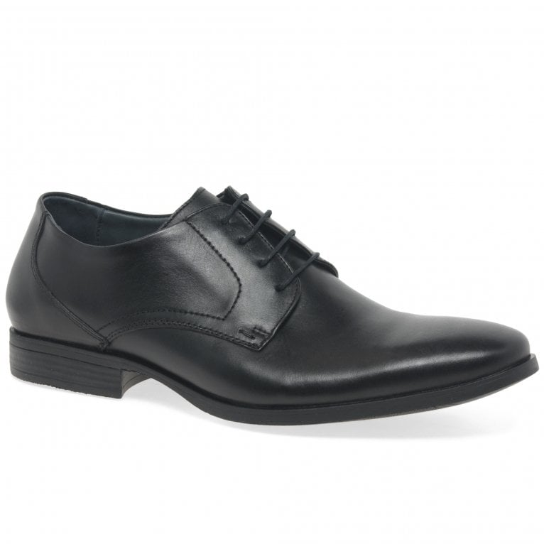 Savelli Sawyer Mens Formal Leather Derby Lace Up Shoes