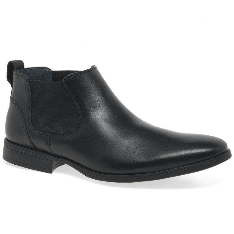 Savelli Scene Mens Classic Leather Chelsea Ankle Boots