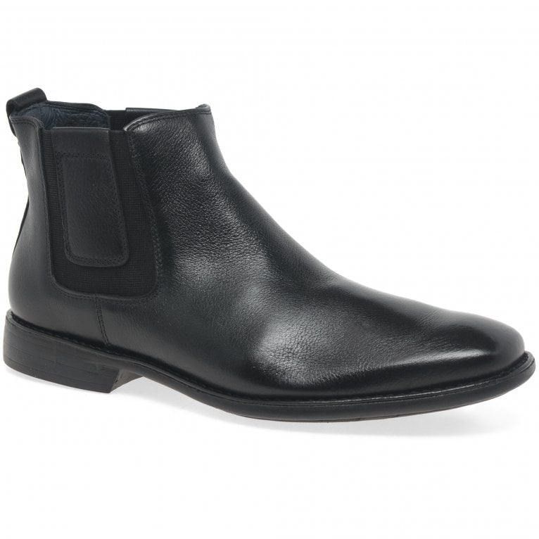 Savelli State Mens Classic Leather Chelsea Ankle Boots